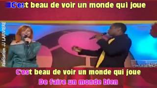AXELLE RED   DANS LA COUR DES GRANDS I G JJ Karaoké - Paroles Karaoké - Paroles