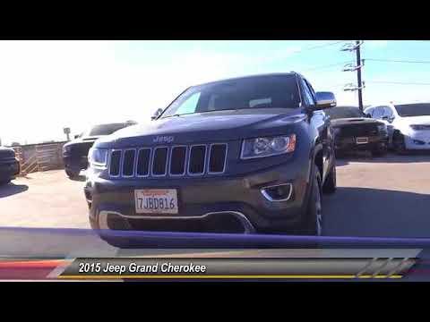 2015 Jeep Grand Cherokee VAN NUYS LOS ANGELES SAN FERNANDO VALENCIA CANOGA PARK uc707561t