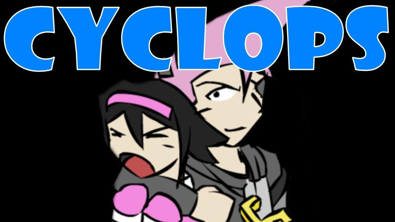 Cyclops girl dating sim