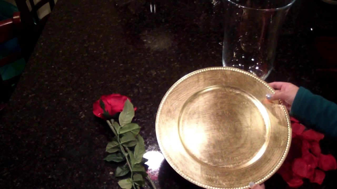 Beauty And The Beast Themed Centerpiece Youtube