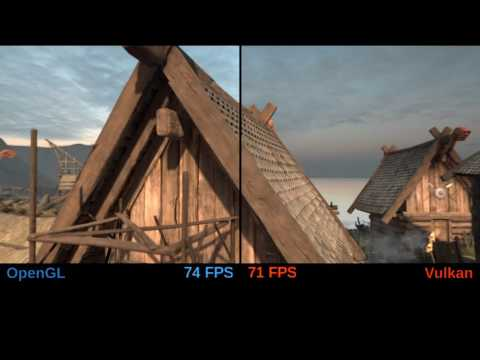 OpenGL and Vulkan, short Unity performance/resources usage comparison on SteamOS