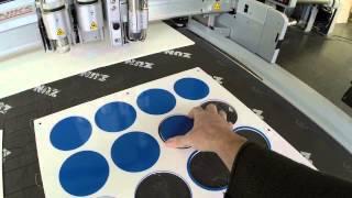 Fraisage sur Zund Forex 3mm par Grafitroniks