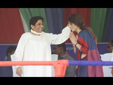 'Bua-bhatija' bonhomie peaks in UP: Mayawati calls Akhilesh's wife 'bahu'