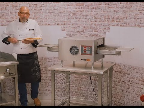 Making Pizza In The Anvil Digital Conveyor Oven