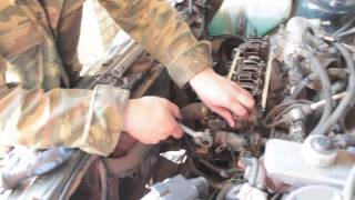 Ремонт ГБЦ ВАЗ 2115 проблема в прокладке