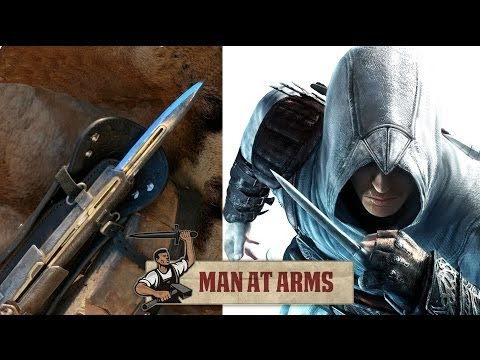 Watch a master swordsmith forge a functioning Assassin's Creed blade