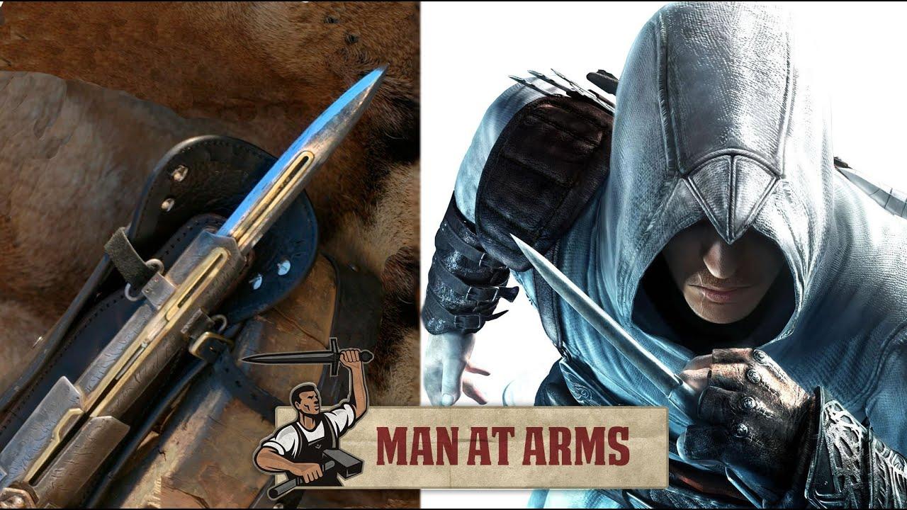 Hidden Blade Pirate Cutlass Assassin S Creed 4 Man At Arms