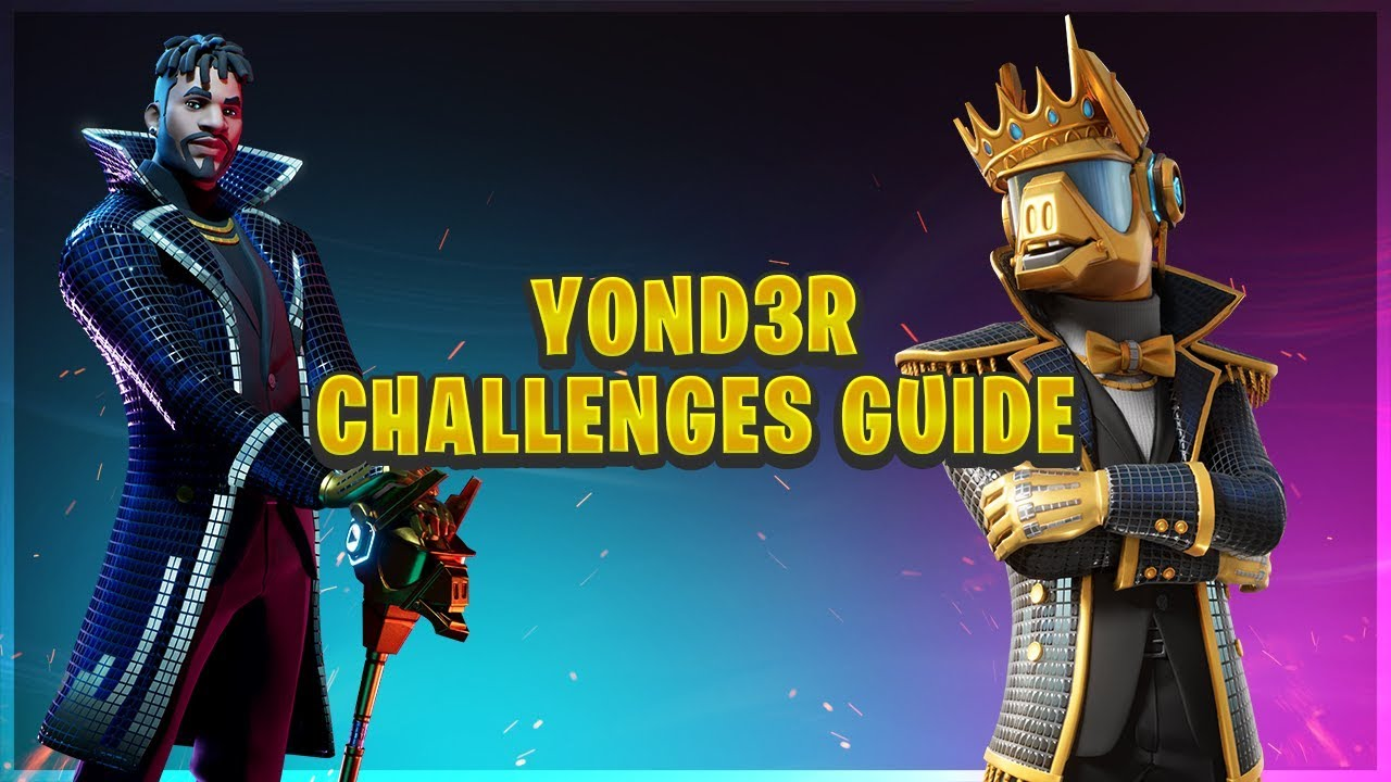 Fortnite Y0nd3r Challenges Guide Season X Youtube Stream tracks and playlists from y0nd3r on your desktop or mobile device. youtube