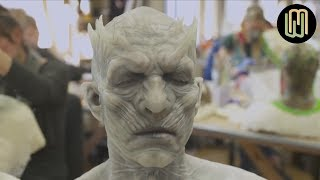 Game of Thrones - Making of White Walkers and other characters (prosthetics)