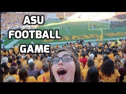 My FIRST College Football Game Vlog // Arizona State University
