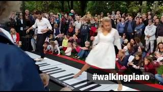 Flashmob! Giant Piano in the park. So wonderful ❤️️