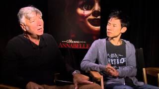 """Annabelle"". ""Entrevista Exclusiva A John Leonetti Y James Wan"". (HD/Subtitulado)"
