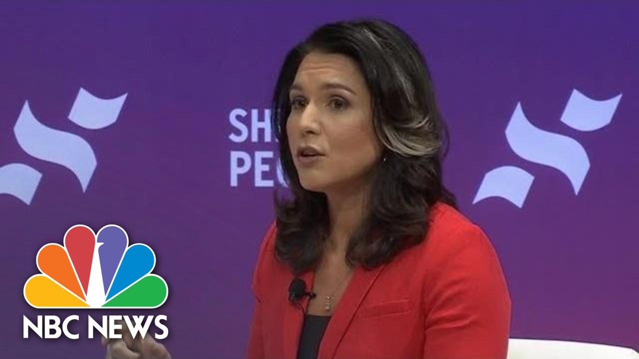 Tulsi Gabbard: We Need To End These Regime Change Wars | NBC News