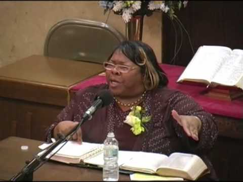 Sharon Davis Brown at (KC) Mt Zion Baptist Church
