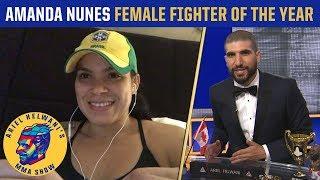 Amanda Nunes: Knocking out Cris Cyborg felt better than Ronda Rousey | Ariel Helwani's MMA Show