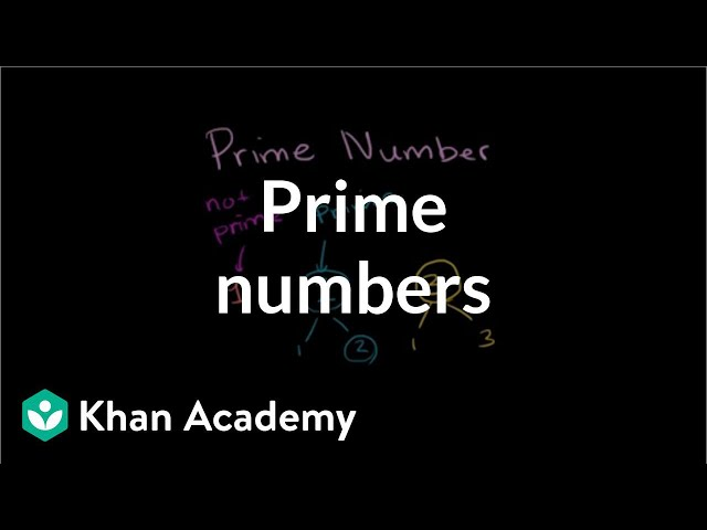 Prime numbers | Factors and multiples | Pre-Algebra | Khan Academy