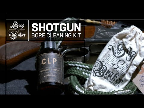 How To Clean an Over Under Shotgun with Sage & Braker's Shotgun Bore Cleaning Kit