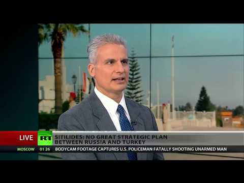 RT America Dec 11, 2017 interview on Russia victory declaration in Syria war