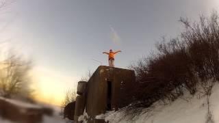 Kite, sunday, Totleben(Немного прокатились по Финскому заливу. Выдалась отличная погода! Сходили на экскурсию на форт Тотлебен..., 2015-02-18T22:03:54.000Z)