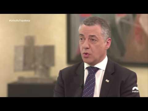 Iñigo Urkullu apoya una regulación grantista de la Gestacion Subrogada 31/03/2017