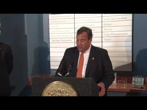 Gov. Christie: CCIT Helps Life Science And Biotech Companies Pioneer Tech Advances Of The Future