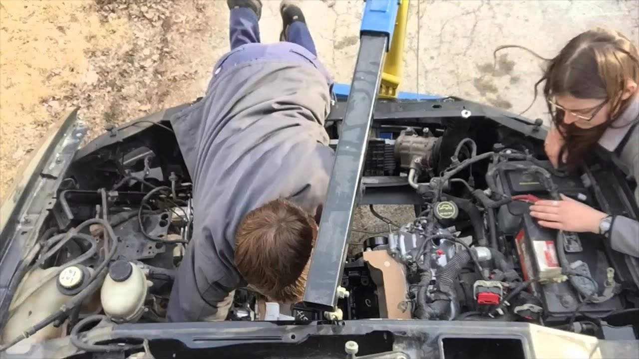 F-150 5 4 Engine Installation