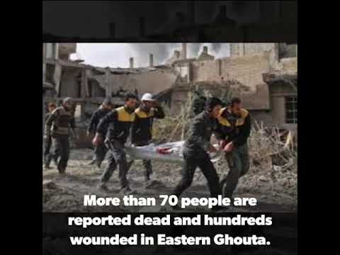 Syrian forces attack rebel stronghold in East Ghouta