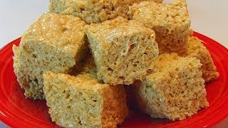 Betty's Salted Caramel Rice Krispies Treats