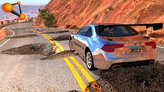 BeamNG.drive - Cars on Roads High Speed #7