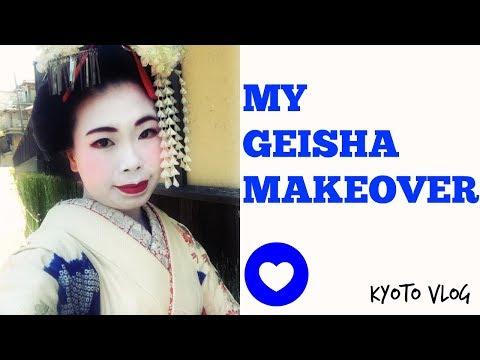 Kyoto Vlog: My Crazy Geisha Transformation