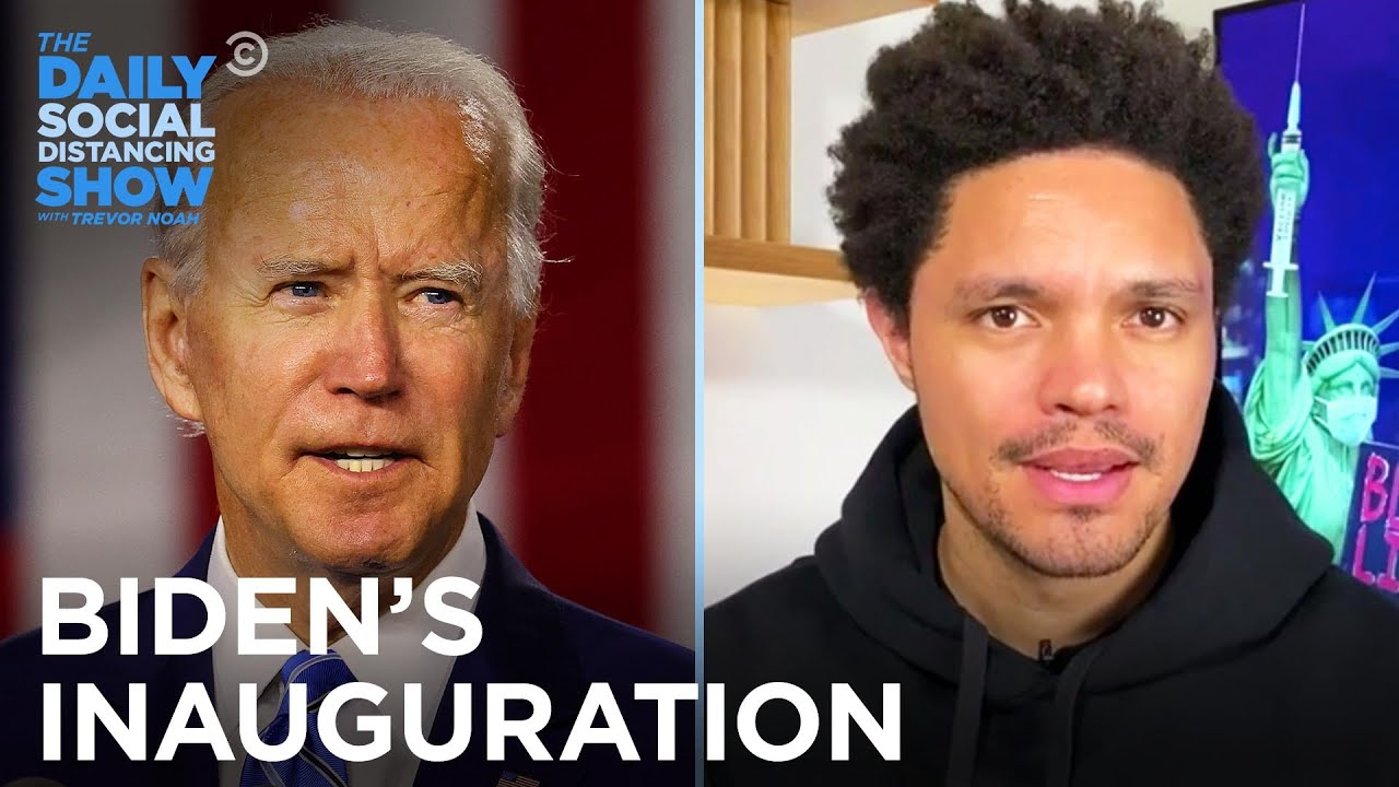 Biden's Inauguration Has U.S. Capitol on High Alert | The Daily Social Distancing Show