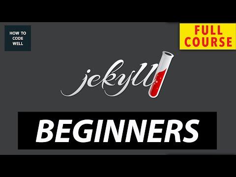 Jekyllrb For Beginners Full Course