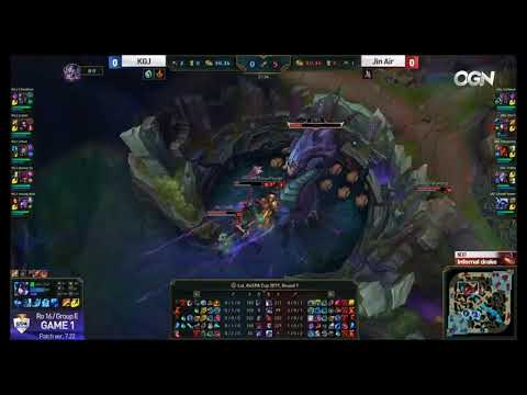ᴴᴰ  Jin Air Green Wings vs Keg Gwangju Highlights Game 1 Kes