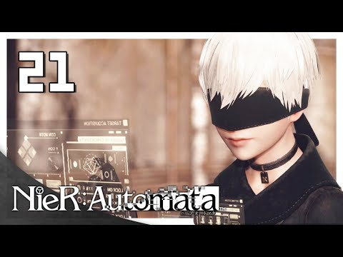 Let's Play NieR: Automata Blind Part 21 - 9S's Side [NieR 2017 PC Gameplay]