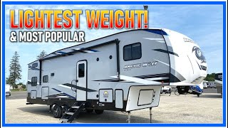 Their SMALLEST Bunkhouse Fifth Wheel!! 2022 Arctic Wolf 287BH