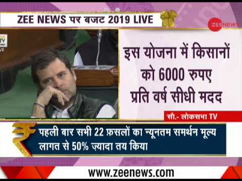 Budget 2019: Big push for farmers, Rs 6000 per year support through PM Kisan Yojana