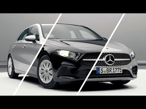 New A-class - Basic, Style, Progressive, AMG line