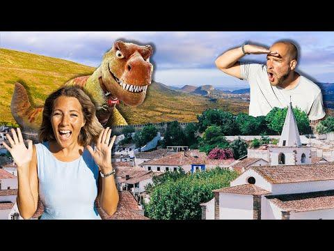 EPIC Portugal Adventure: Exploring Óbidos, Peniche and Dinosaurs!