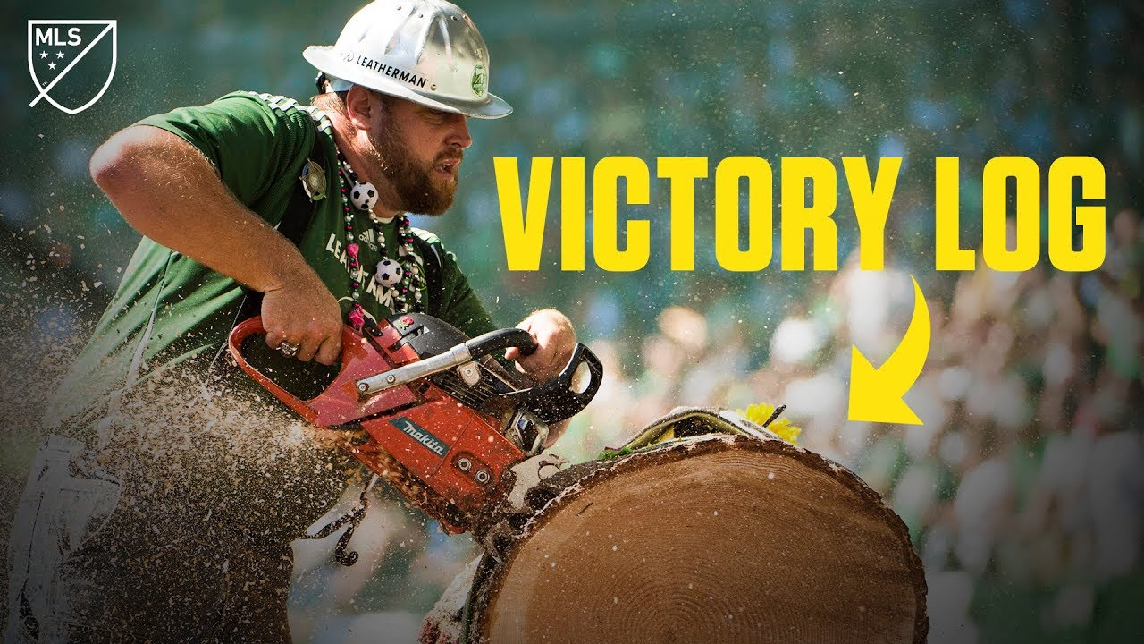 Download The Story Behind The Portland Timbers' Chainsaw Celebration