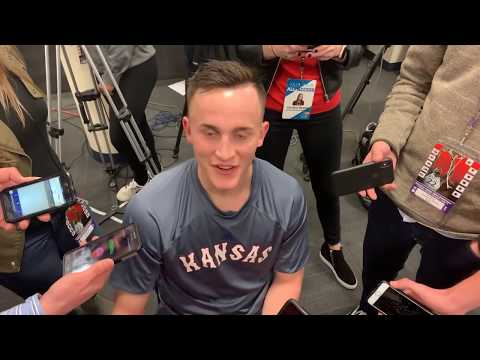 Mitch Lightfoot on how much it means to win the Sunflower Showdown   KUsports Video