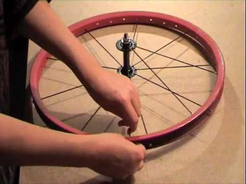 Without the bullshit. How to build a 36 spoke wheel.