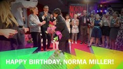 "Happy Birthday,  Norma Miller!  the ""Queen of Swing"" 95 years young."