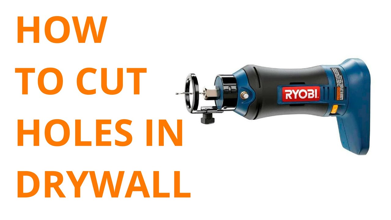 How To Cut Holes In Drywall For Receptacles Spot Lights And Electric Bo