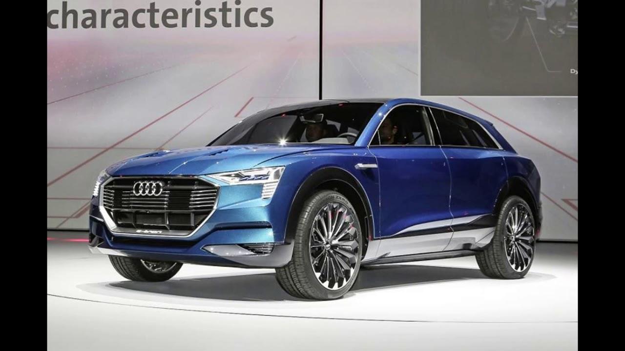 The New 2018 Audi Q4 E Tron Concept YouTube