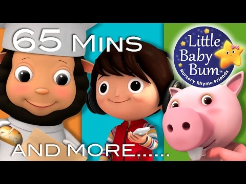 Rig A Jig Jig | Plus Lots More Nursery Rhymes | 65 Minutes Compilation from LittleBabyBum!