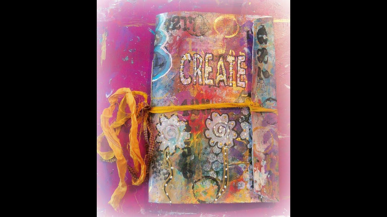 Art Journal Calendar Tutorial : Diy easy art envelope journal how to make a