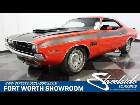 1970 Dodge Challenger Ta For Sale 3062 Dfw Youtube