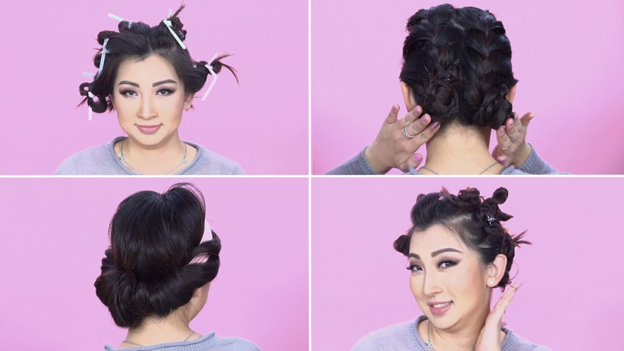 4 Ways To Curl Your Hair Without Iron Youtube