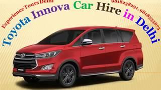 Toyota Innova Car Hire, Inova car on Rent Delhi