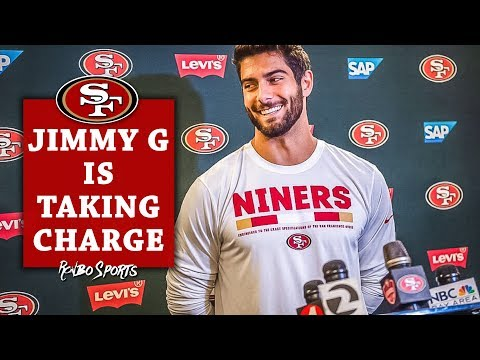 LIVE! 49ers QB Jimmy Garoppolo Holding Weekend Workouts | NFL Draft Night 2018